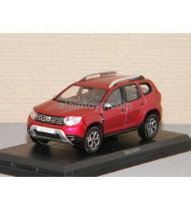 DACIA DUSTER 2018 Flamme Red NOREV 1/43 Ref 509005