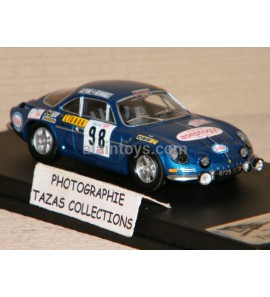 ALPINE RENAULT A110 3rd TAP RALLY PORTUGAL 1971 TROFEU 1/43