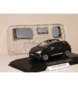 CITROËN DS3 CABRIOLET 2013 BLACK NOREV 1/43