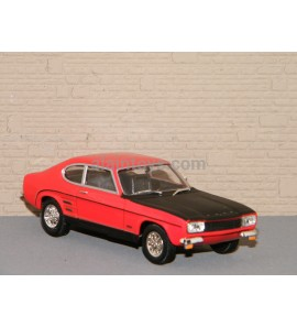 FORD CAPRI RS ROUGE CARARAMA 1/43 Ref 414070