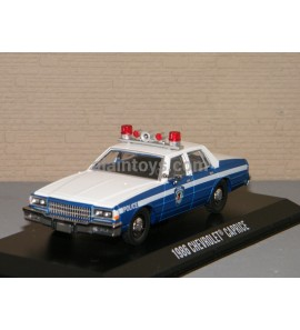CHEVROLET CAPRICE WILMETTE 1986 ILLINOIS POLICE GREENLIGHT 1/43 Ref 86585