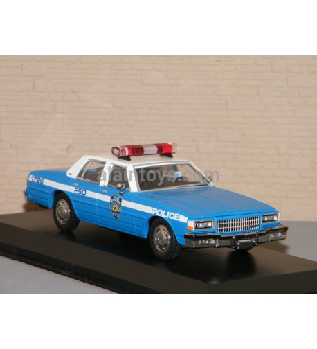 CHEVROLET CAPRICE 1990 NEW YORK POLICE DEPARTMENT (NYPD) GREENLIGHT 1/43 Ref 86583
