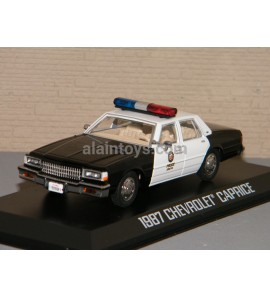 CHEVROLET CAPRICE METROPOLITAIN POLICE 1987 GREENLIGHT 1/43 Ref 86582