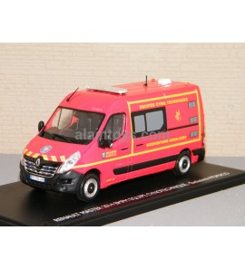 RENAULT MASTER 2014 VEHICULE D'INTERVENTION CYNOTECHNIQUE 13 MARSEILLE BMPM MOMACO 1/43 Ref 116792