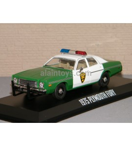 PLYMOUTH FURY 1975 SHERIF GREENLIGHT 1/43 Ref 86595
