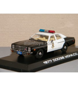 DODGE MONACO POLICE 1977 The Terminator GREENLIGHT 1/43 Ref 86534