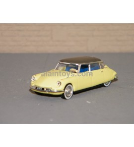 CITROËN DS 19 1958 Jonquille Yellow NOREV 1/87 Ref 157085