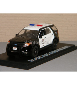 FORD POLICE INTERCEPTOR UTILITY LAPD THE ROOKIE 2013 GREENLIGHT 1/43 Ref 86587