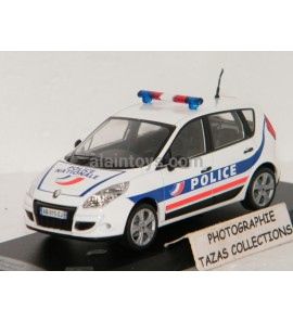 RENAULT SCENIC 2009 Police Française SOLIDO 1/43