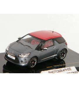 CITROËN DS3 2011 GRIS METAL/ROUGE IXO 1/43