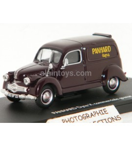 PANHARD DYNA X COMMERCIALE GRENAT ELIGOR 1/43