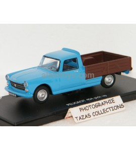 PEUGEOT 404 PICK UP BLEUE/MARRON ELIGOR 1/43